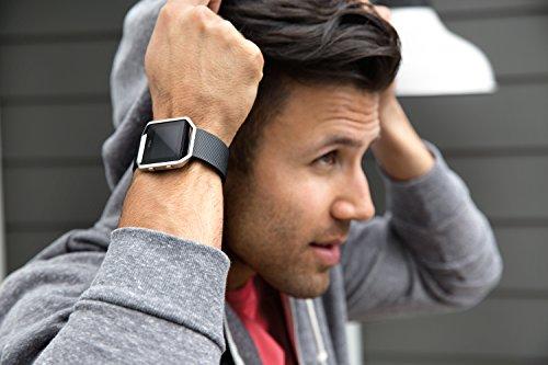Fitbit Fitness Uhr Blaze, Schwarz, L, FB502SBKL-EU - 4