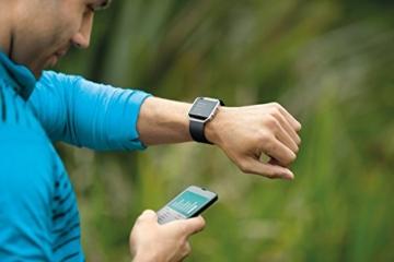 Fitbit Fitness Uhr Blaze, Schwarz, L, FB502SBKL-EU - 6