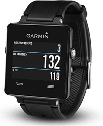 Garmin vívoactive Sport GPS-Smartwatch - 3 Wochen Batterielaufzeit, Sport Apps (Laufen, Radfahren, Schwimmen, Golfen) - 3