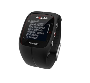 POLAR Trainingscomputer M400 HR, Schwarz, 90051341 - 4