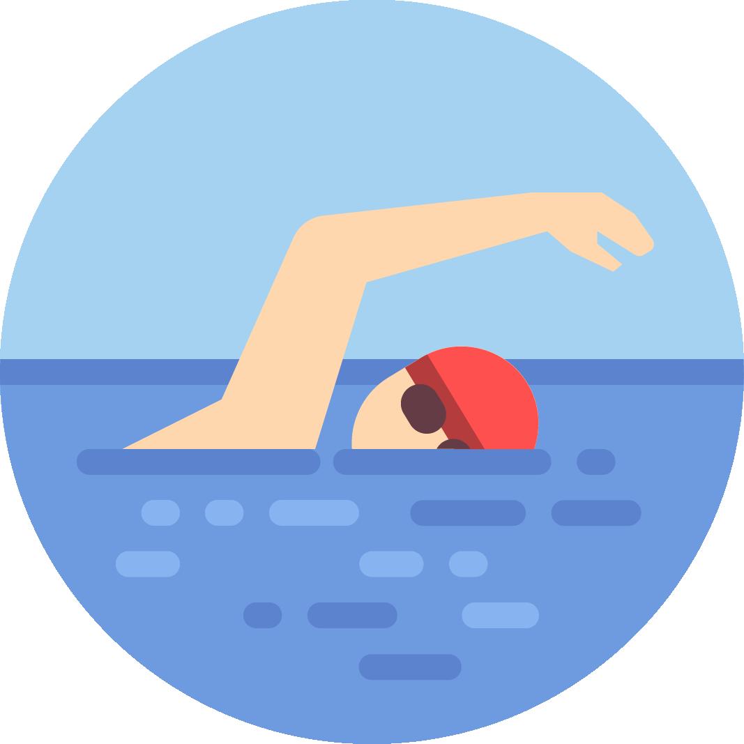 Eine Triathlon Uhr muss zwingend wasserdicht sein.