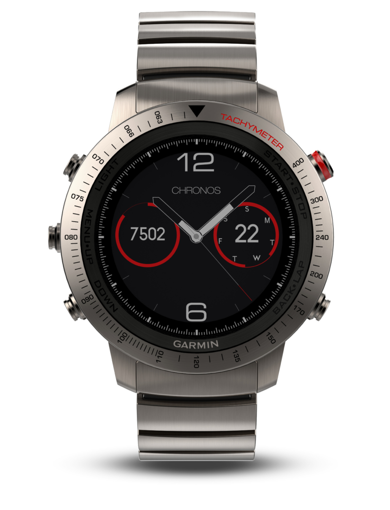 garmin fenix chronos titan sportliche luxusuhr sportuhr. Black Bedroom Furniture Sets. Home Design Ideas